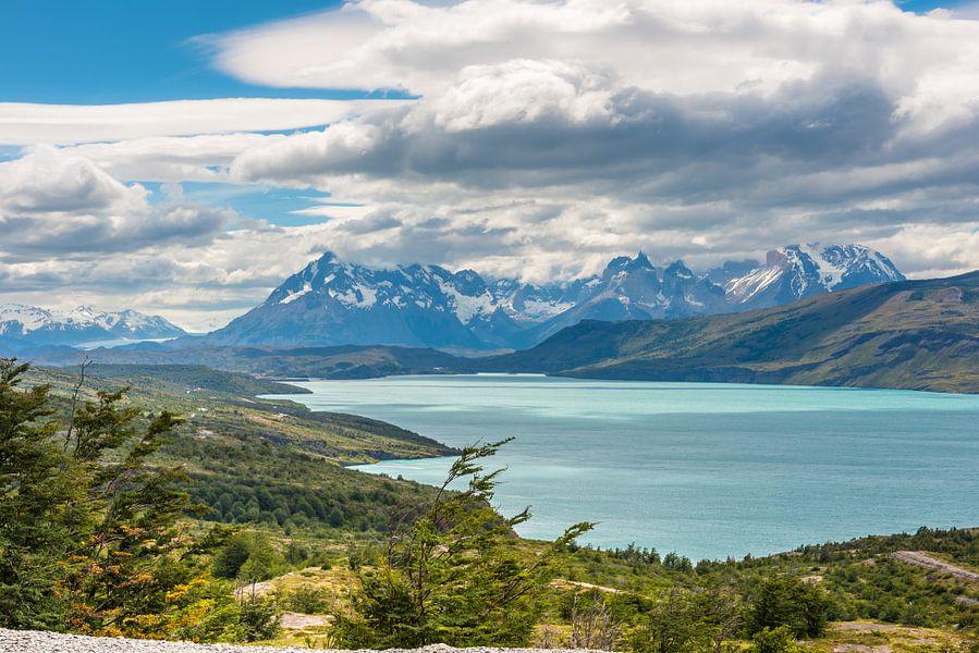 Meer in Patagonie van Trudy van der Werf