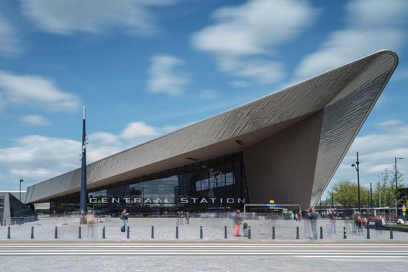 Het centraal station van Rotterdam van Menno Schaefer