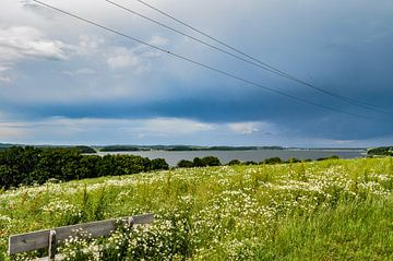Gewitterwolken über dem Reddevitzer Höft von GH Foto & Artdesign