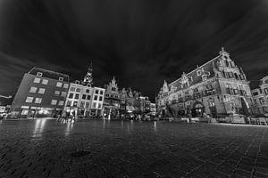 Grote Markt by night, Nijmegen von Stefan van der Wijst