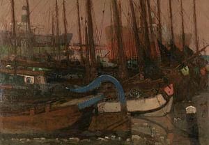 Schiffe im Eis, George Hendrik Breitner, 1901