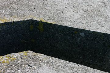 abstract concrete composition no. 1 van Robin Veenink
