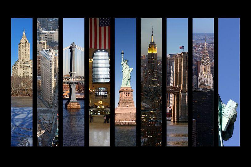 New York - Collage van Marcel Schauer