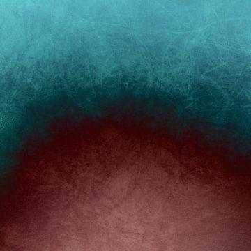 abstract painting III van Vanessa Galeote