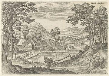 Hans Collaert (I), Blick auf Bosvoorde