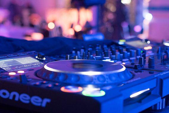 DJ Booth van Jaap Burggraaf