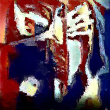 Abstrakte Inspiration XXXXII von Maurice Dawson