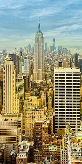 Manhattan / Vertical Panoramic View