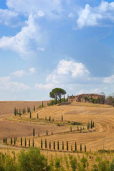 Verlaten in Toscane van  Leo van Valkenburg