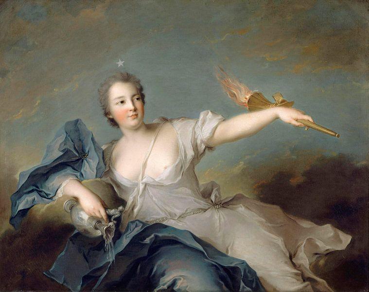 Marie-Anne de Nesle, Marquise von La Tournelle, Jean-Marc Nattier von Meesterlijcke Meesters