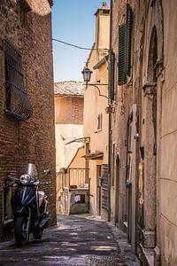 Toscaanse steeg van