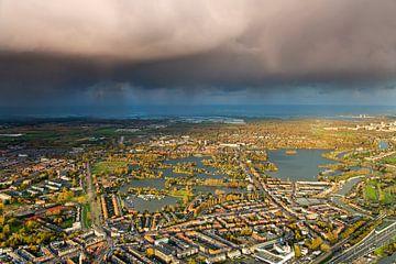 Luchtfoto Bergsche Plassen en Hillegersberg te Rotterdam