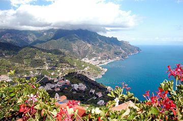 Ansicht Amalfiküste von Edith Wijte