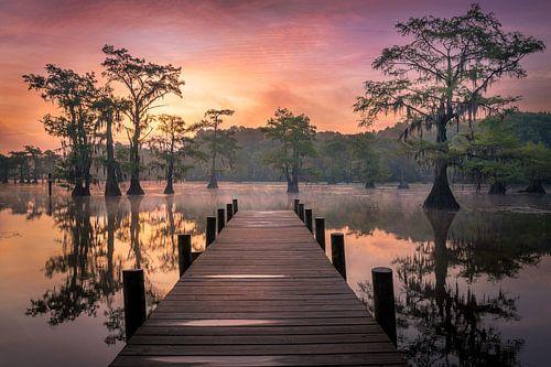 Ochtend aan het meer van Edwin Mooijaart