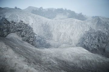 Vulkaanlandschap bij Bromo Indonesie van Karel Ham