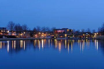 Het Griftpark met restaurant Griftpark 1 in Utrecht von