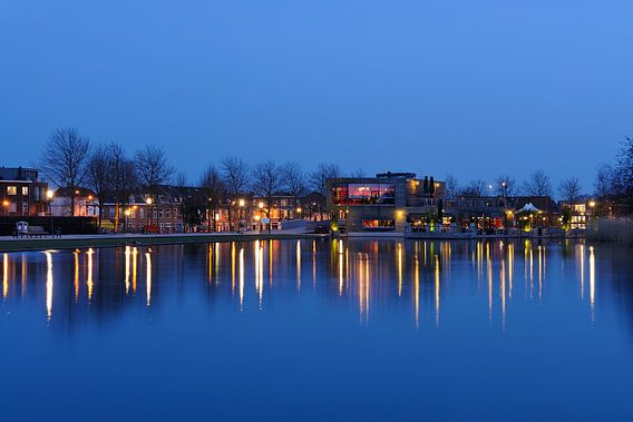 Het Griftpark met restaurant Griftpark 1 in Utrecht