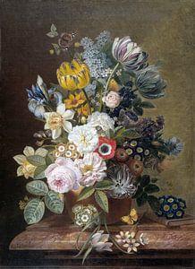 Stillleben mit Blumen - Eelke Jelles Eelkema von