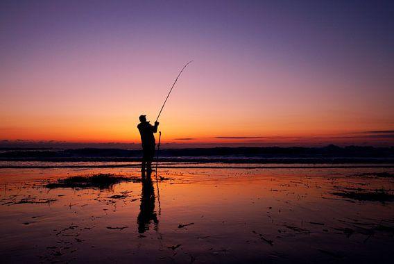 visser aan zee van Dirk van Egmond