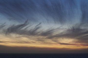 Atlantische Oceaan Zonsondergang van Maarten Heijkoop