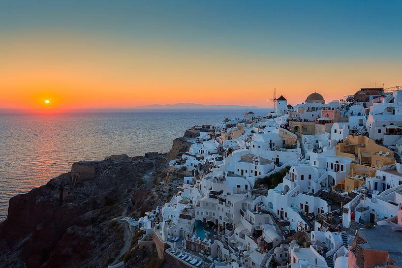 Santorini - Griekenland van Roy Poots