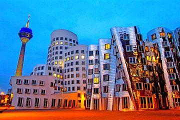 Neuer Zollhof, Düsseldorf von Hans-Peter Merten