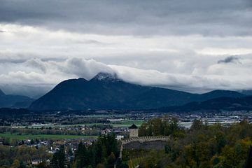 Salzburg Castle Alpen von Theo Meulendijk