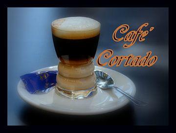 Café cortado van Iris Heuer