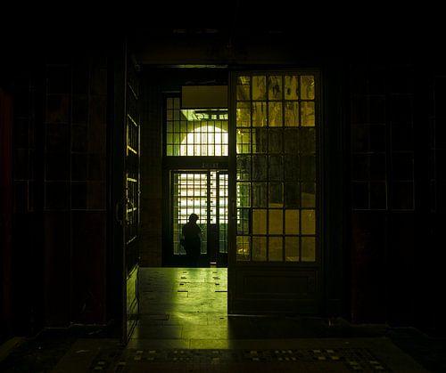 Urbex. Het oude postkantoor in Rotterdam. van