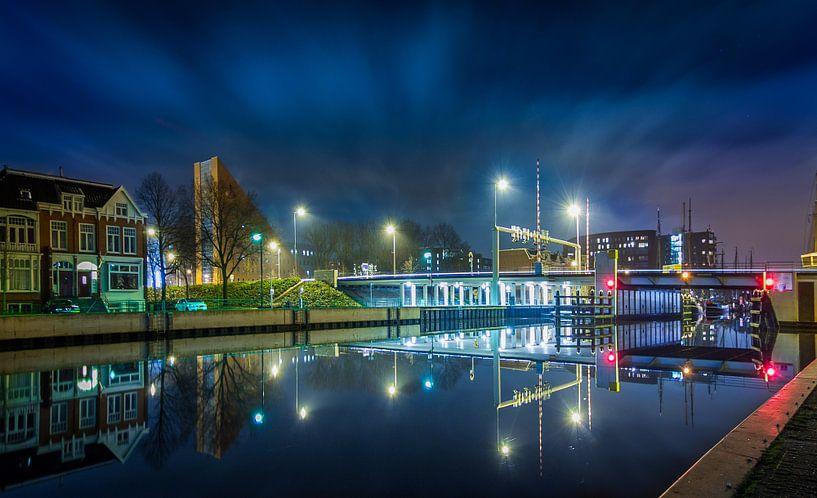 Eemskanaal - Europaweg van Stad in beeld