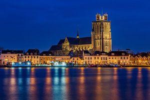 Skyline van Dordrecht met de Grote Kerk - 1