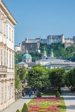 SALZBURG Grandioser Blick auf die Festung Hohensalzburg  von Melanie Viola