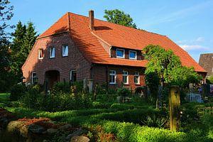 Farm House in the Luneburg Heath
