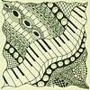 Zentangle Kunst van Anja  Bulté thumbnail