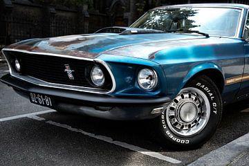 Ford Mustang GT Cobra Wagen blau von Celisze. Photography