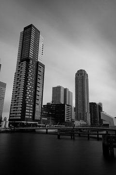 Rotterdamse skyline van Ronald Bruijniks
