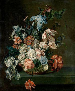 Nature morte aux fleurs, Cornelia van der Mijn
