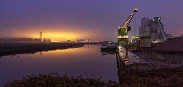 industrieel panorama van Eugene Winthagen