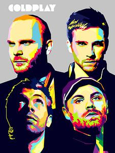 Pop Art Coldplay von