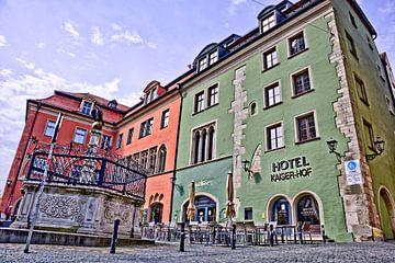 Domplatz Regensburg von Roith Fotografie