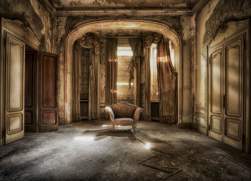 Throne 1 van Kirsten Scholten