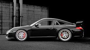Porsche 911 GT3 Typ 997 in dark black