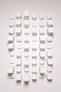 Bumpy Wall Lilac van Jörg Hausmann