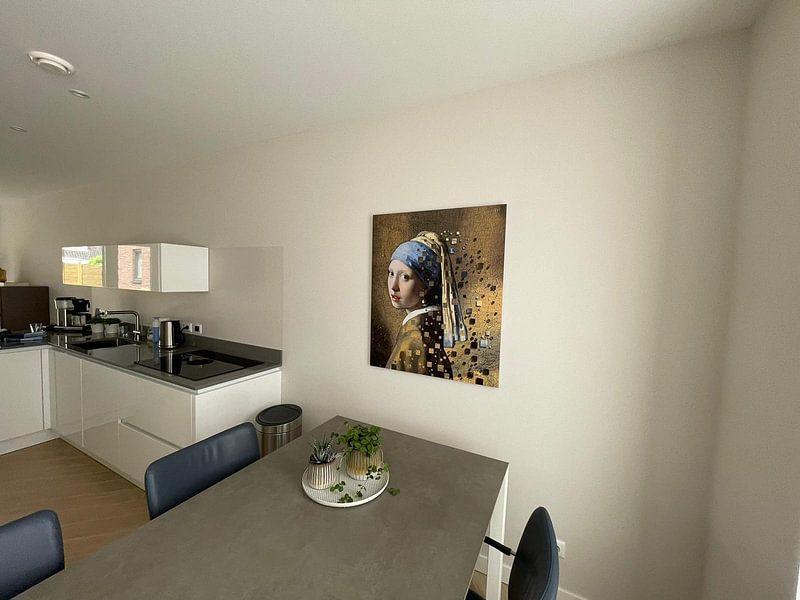 Kundenfoto: Das Mädchen mit dem Perlenohrgehänge - Johannes Vermeer von Lia Morcus