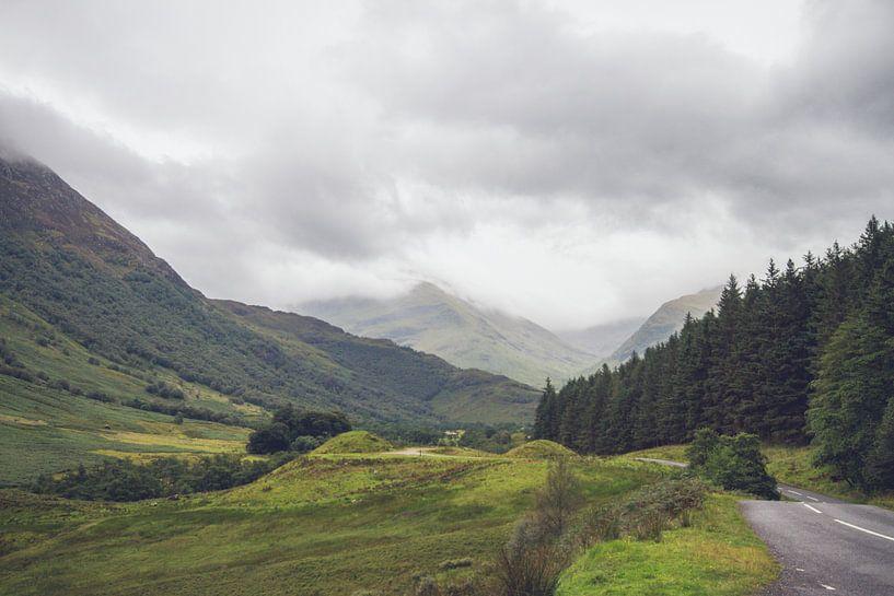 Prachtige Schots landschap van Geke Woudstra