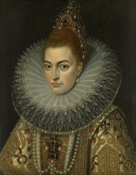 Isabella Clara Eugenia, Frans II Pourbus