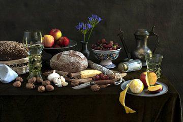 Der großzügig gedeckter Tisch von Alexander Tromp
