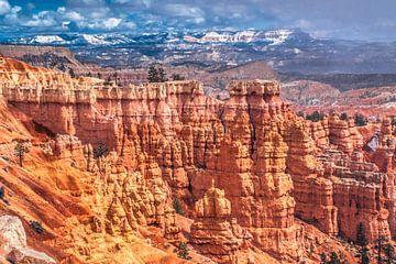 Grillige vormen in Bryce Canyon, Utah van