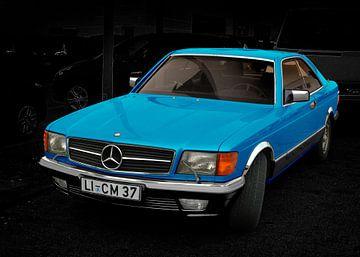 Mercedes-Benz C 126 in blue color von aRi F. Huber