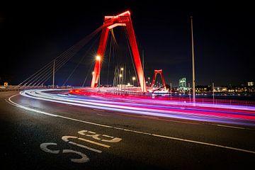 Willemsbrug Rotterdam von Jeroen Mikkers